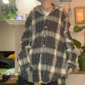 Polo by Ralph Lauren Plaid Hooded Flannel